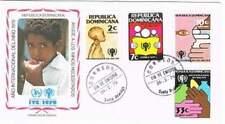 Envelop Jaar van het Kind 1979 - Dominicana (036)