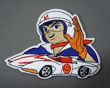 SPEED RACER with MACH 5 - Mach Go - Embroidered Iron-On Patch - 4""