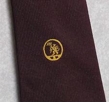 Vintage Tie MENS Necktie Crested Club Association Society DRAGON