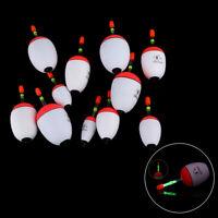 5pcs/set Bobber Portable Fishing Night Float Ball Boia Light Stick Eva Foam