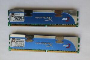 Kingston KHX8500D2K2/4G (4GB, PC2-8500 (DDR2-1066), DDR2 SDRAM, 1066 MHz,...