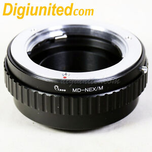 Minolta MD lens to Sony E mount NEX adapter Macro focusing helicoid A5100 A6300