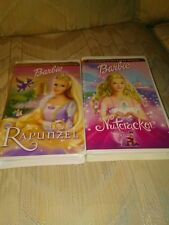 Barbie VHS Lot Barbie as Rapunzel Barbie in the Nutcracker