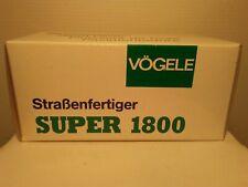 NZG 1:50 VOGELE SUPER 1800 TRACK ROAD PAVER