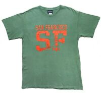 Vintage Graphic T-shirt Tee MV Sport 90s San Fransisco Bridge USA Mens Medium