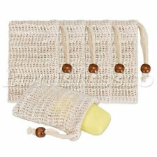 5pcs/set Soap Bags Anti-Slip Sleeve Foaming Mash Net Mitt Massage Bathing Tools