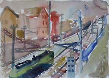 Vienna train tracks