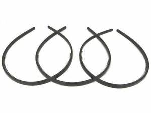 3 Black Plastic Alice  Hairbands unbreakable Headband  Hair Accessory
