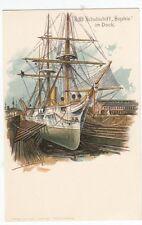 Ansichtskarten vor 1914 aus Deutschland (vor 1950) Seefahrts- & Schiff-Motiv