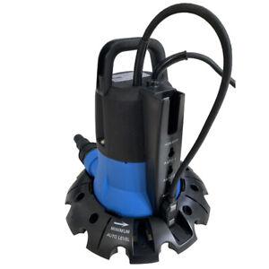 Pompa Svuota Teloni Elimina Accumuli di Acqua Piovana dal Telo Piscina 5000 lt/h