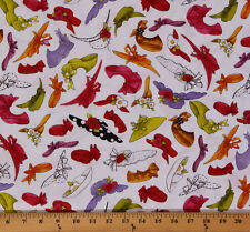 Cotton Church Ladies Hats Accessories Cotton Fabric Print by the Yard D478.11