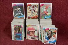 "One LOT of THREE-HUNDRED FIFTEEN (315) ""Original"" 1980 TOPPS ""Baseball"" CARDS"