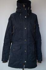 Didriksons Women Parka Jacket Storm System Cotton Blend Outdoor 38 M UK12