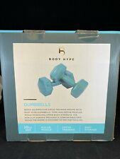 Body Hype Hex Non Slip Dumbbells 10 Pound Set (20 lb Total Weight)