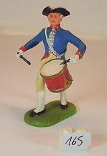 Elastolin 9154 Preußen des 18. Jahrh. 7 cm Trommler im Marsch  #165