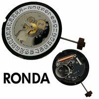 Pour Ronda 515 Véritable Mouvement à quartz Date At 3' Watch Pièces de rechange