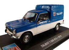 TALBOT 1100 VF2 1973 furgoneta VAN 1:43 IXO Altaya Diecast