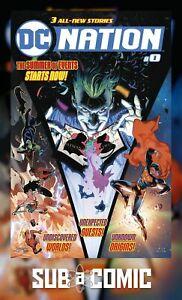 DC NATION #0 (DC 2018 1st Print) COMIC