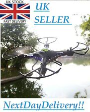 QUADCOPTER DRONE Indoor/Outdoor 1 key FLY HOME 4 CH XBOX STYLE Controller+HD Ca