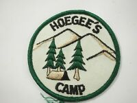 Boy Scouts America BSA Hoegees Camp Cloth Patch