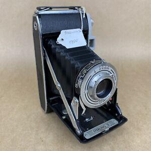 Kodak Sterling II 1955 Vintage Folding Camera W/ 105mm Anaston London Lens