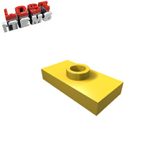 20 x [neu] LEGO Konverterplatte 1 x 2 mit Griffrille - gelb - 3794