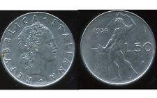 ITALIE   ITALY   50 lire 1954  ( bis )
