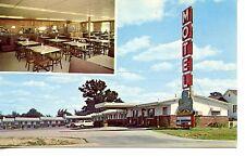 Clover Leaf Motel-Restaurant-Lebanon-Missouri-Vintage Advertising Postcard