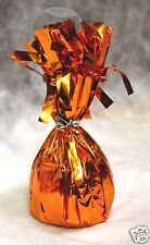 Balloon Weights ORANGE party favors 6.2 oz