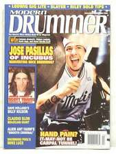 MODERN DRUMMER MAGAZINE JOSE PASILLAS INCUBUS MIKE LUCE BILLY KILSON VERY RARE