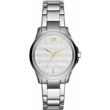 **NEW** LADIES ARMANI EXCHANGE AX  SILVERL GOLD  WATCH - AX5230 - RRP £149