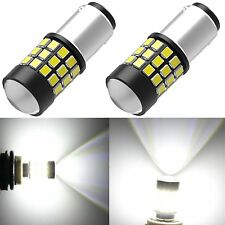 Alla Lighting 1157 BAY15D 39-SMD White LED Bulbs Hyundai Front Turn Signal Light