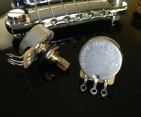 1X CTS TAOT CUSTOM 525K SHORT Split Shaft Audio Taper Pot - Potentiometer 500K