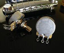 1X CTS TAOT CUSTOM 525K SHORT Split Shaft Audio Taper Pot - Potentiometer 500K