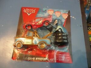 Brand new in Package Disney Cars Swimming Dive Sticks Tow Mater Lightening