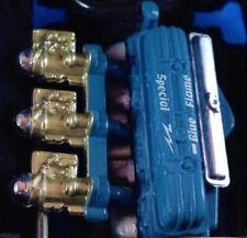 Corvette Chevy 1953 Car Blue Flame Straight Six 6 Engine Motor Original Wheels