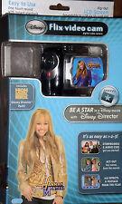 Disney Flix Kids Digital Video Black Camera Camcorder Sakar Movie Maker CD-Rom