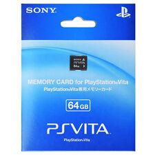100% Official Sony PS Vita 64GB Memory Card PSV Brand New Sealed AU