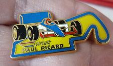 PIN'S F1 FORMULA ONE CIRCUIT PAUL RICARD ARTHUS BERTRAND