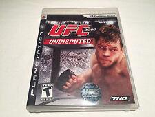 UFC 2009 Undisputed (Playstation PS3) Original Release Complete Excellent!