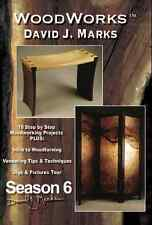 David J Marks WoodWorks Season 6 DVD Woodworking Furniture Instruction DIY Video