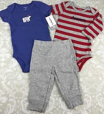 NWT Baby Boy 3 Mo Outfit Set Carters 3 Piece Polar Bear Hugs Awesome