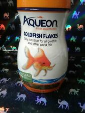 SEALED AQUEON Goldfish Flakes 7.12 oz NATURAL COLOR & INGREDIENTS