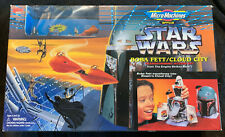 STAR WARS MICRO MACHINES BOBA FETT CLOUD CITY TRANSFORMING ACTION SET NEW SEALED