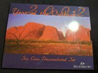 2002 RAM UNC Set - Royal Australian Mint Uncirculated Coin Set
