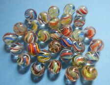 32 Antique Swirl / Lattice Marbles