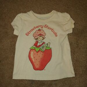 Vintage Strawberry Shortcake Shirt Size 12--18 Months