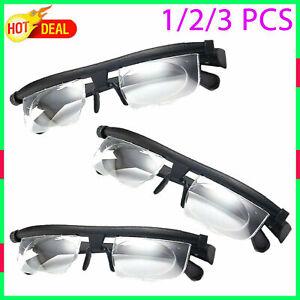 Dial Vision Glasses Vision Focus For Adult Distance Reading Eyeglasse Adjustable