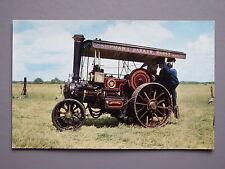 R&L Postcard: Burrell No.3458 Steam Engine Tractor, Shipman & Baker, Berkshire