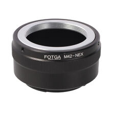 FOTGA Adapter for M42 42mm Lens to Sony E-Mount NEX-7 6 5 A7 A7R II A6500 A6600